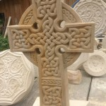 Celtic Cross Baumberger Sandstein ca. 44 x 35 x 7cm Handarbeit Preis auf Anfrage