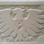 Preußen Münster Reliefplatte. 34x28x5cm. 150,00€. Zu erwerben über den Fanshop.