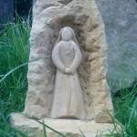 """Skulptur """"Heilige"""""""
