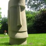 "Skulptur ""Tiki"""