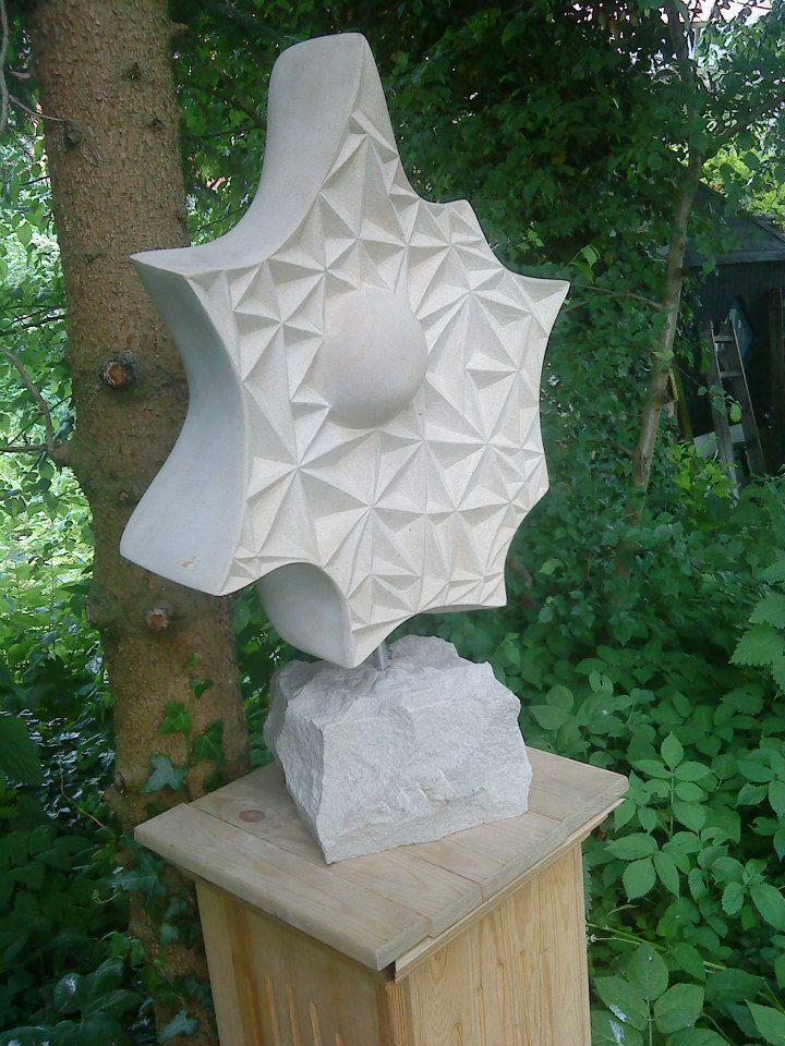 "Skulptur ""Goal"" Baumberger Sandstein 520,00 €"