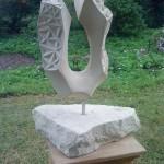 """Skulptur """"U-Stella"""" Baumberger Sandstein 455,00 €"""