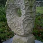"""Skulptur """"Halfhole"""""""