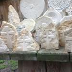 Keltische Kreuze  Baumberger Sandstein  Handarbeit