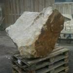 Der Stein im Rohzustand