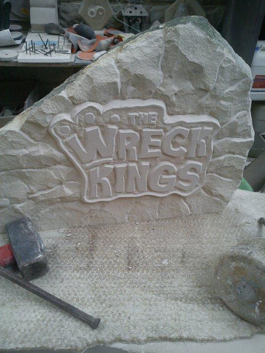 "Spezialanfertigung Relief ""The Wreck Kings"""