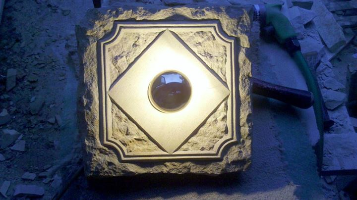 sandsteinlampe