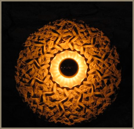 Sandsteinlampe 4