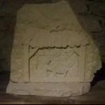 Krippe hl. Familie Baumberger Sandstein 220,00 € Handarbeit