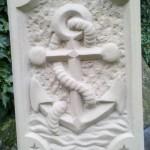 Anker/Wappen Baumberger Sandstein