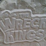 Logo The Wreck Kings aus Baumberger Sandstein